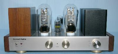 メッシュ300Bステレオパワーアンプ 出力10Wの写真です。
