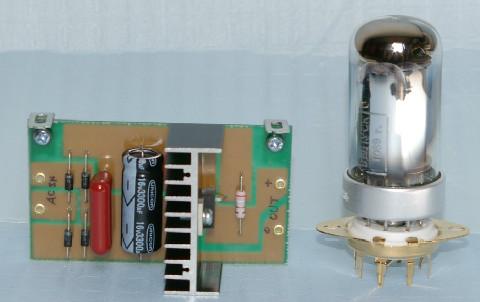 4P1Lヒーター定電流基板の写真です。