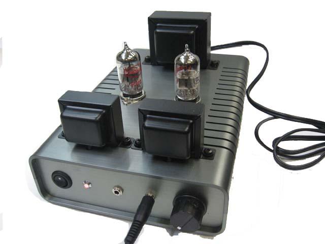 ヘッドフォンアンプ キットの写真です。