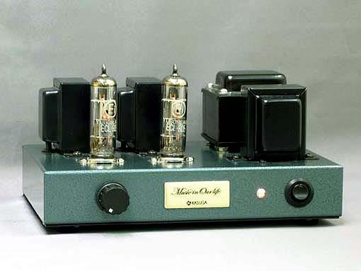 ECL805(6GV8)シングルアンプキットの写真です。